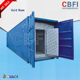 Chiny Color Steel Panels Sliding Door Container Cold Room -18 - -25 For Fish And Meat fabryka