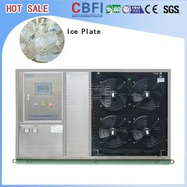 Chiny Fast Food Shops Plate Ice Making Machine , Household Ice Machine Easy Operation fabryka