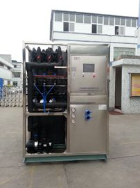 Chiny R22 / R404a Refrigerant Industrial Ice Maker Machine , Air Cooled Ice Maker fabryka