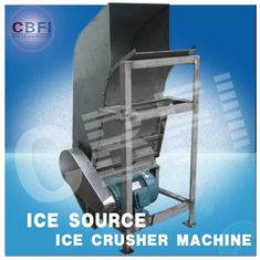 Chiny Water Proof Crushed Ice Maker Machine / Industrial Ice Crusher Machine Energy Saving  fabryka