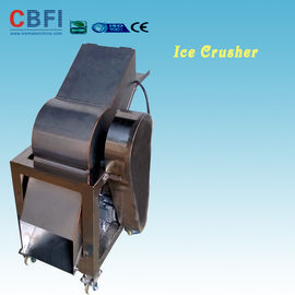 Chiny 110 - 220V Electric Crush Ice Machine , Ice Crushing Machine 2 Tons Per Hour fabryka