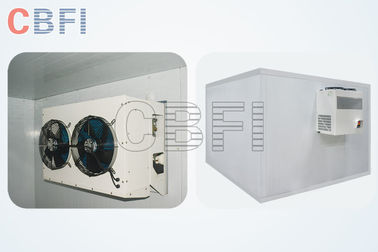 Chiny Walk In Cold Storage Blast Chiller Freezer With Color Steel , Stainless Steel Panels fabryka